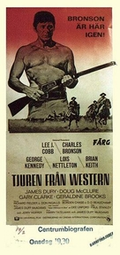 The Bull of the West - Swedish Movie Poster (xs thumbnail)