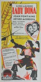Frenchman's Creek - Swedish Movie Poster (xs thumbnail)