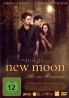 The Twilight Saga: New Moon - German Movie Cover (xs thumbnail)