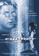 Cypher - Italian Movie Poster (xs thumbnail)