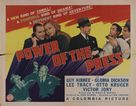 Power of the Press - Movie Poster (xs thumbnail)