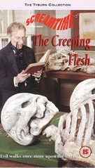 The Creeping Flesh - British VHS movie cover (xs thumbnail)