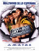 Jay And Silent Bob Strike Back - Spanish Movie Poster (xs thumbnail)
