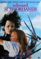 Edward Scissorhands - Swedish Movie Poster (xs thumbnail)