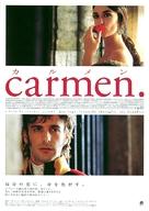 Carmen - Japanese poster (xs thumbnail)