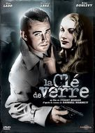 The Glass Key - French DVD cover (xs thumbnail)