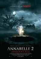 Annabelle: Creation - Czech Movie Poster (xs thumbnail)