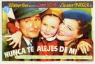 Never Say Goodbye - Spanish Movie Poster (xs thumbnail)