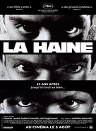 La haine - French Re-release movie poster (xs thumbnail)