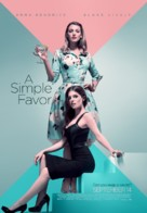 A Simple Favor - Canadian Movie Poster (xs thumbnail)