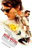 Mission: Impossible - Rogue Nation - Icelandic Movie Poster (xs thumbnail)