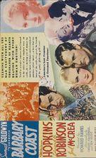 Barbary Coast - poster (xs thumbnail)