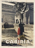 Cabiria - French Movie Poster (xs thumbnail)