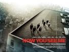 Now You See Me - British Movie Poster (xs thumbnail)
