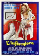 L'infermiera - Italian Movie Poster (xs thumbnail)