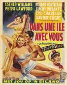 On an Island with You - Belgian Movie Poster (xs thumbnail)