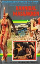 Cannibal Holocaust - Danish VHS movie cover (xs thumbnail)