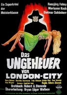 Das Ungeheuer von London-City - German Movie Poster (xs thumbnail)