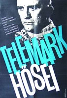 The Heroes of Telemark - Hungarian Movie Poster (xs thumbnail)