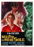 Plein soleil - Italian Movie Poster (xs thumbnail)