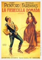 The Taming of the Shrew - Spanish Movie Poster (xs thumbnail)