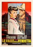 Vengeance Valley - Italian Movie Poster (xs thumbnail)