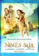 Nim's Island - Lithuanian Movie Poster (xs thumbnail)