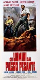 Gli uomini dal passo pesante - Italian Movie Poster (xs thumbnail)