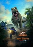 """Jurassic World: Camp Cretaceous"" - Italian Movie Poster (xs thumbnail)"