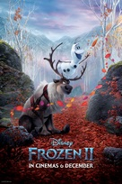 Frozen II - South African Movie Poster (xs thumbnail)