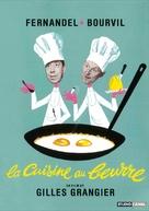 La cuisine au beurre - French DVD cover (xs thumbnail)