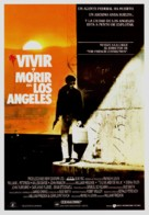 To Live and Die in L.A. - Spanish Movie Poster (xs thumbnail)
