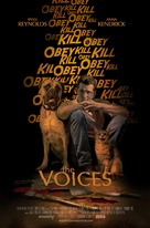 The Voices - Movie Poster (xs thumbnail)