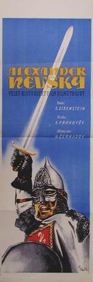 Aleksandr Nevskiy - Czech Movie Poster (xs thumbnail)