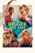 A Bigger Splash - British Video on demand movie cover (xs thumbnail)