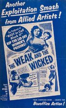 The Weak and the Wicked - poster (xs thumbnail)