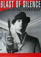 Blast of Silence - German Movie Poster (xs thumbnail)