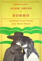 Zorro - Romanian Movie Poster (xs thumbnail)