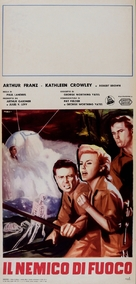 The Flame Barrier - Italian Movie Poster (xs thumbnail)