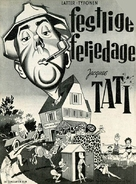 Les vacances de Monsieur Hulot - Danish Movie Poster (xs thumbnail)