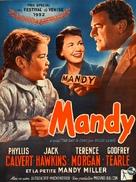 Mandy - Belgian Movie Poster (xs thumbnail)