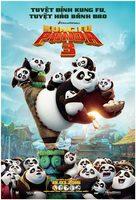 Kung Fu Panda 3 - Vietnamese Movie Poster (xs thumbnail)