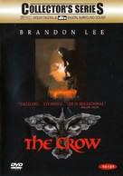 The Crow - South Korean DVD movie cover (xs thumbnail)