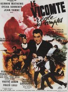 Le vicomte règle ses comptes - French Movie Poster (xs thumbnail)