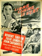 Saddle the Wind - French poster (xs thumbnail)