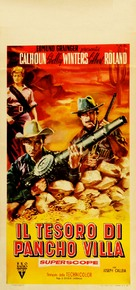 The Treasure of Pancho Villa - Italian Movie Poster (xs thumbnail)