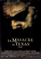The Texas Chainsaw Massacre - Venezuelan Movie Poster (xs thumbnail)