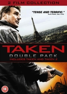 Taken 2 - British DVD cover (xs thumbnail)
