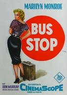 Bus Stop - German Movie Poster (xs thumbnail)