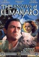 The Snows of Kilimanjaro - DVD movie cover (xs thumbnail)